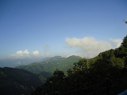 Clouds End in Mussorrie-Hill Stations in Uttarakhand