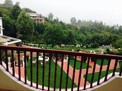 Krishna Orchard Resort Mukteshwar View